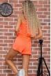 Костюм  женский  цвет оранжевый 176R1034 акция
