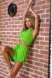 Костюм  женский  цвет салатовый 176R1034 стоимость
