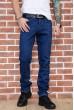 Купить Джинсы мужские на флисе  цвет синий 129R3030 66950