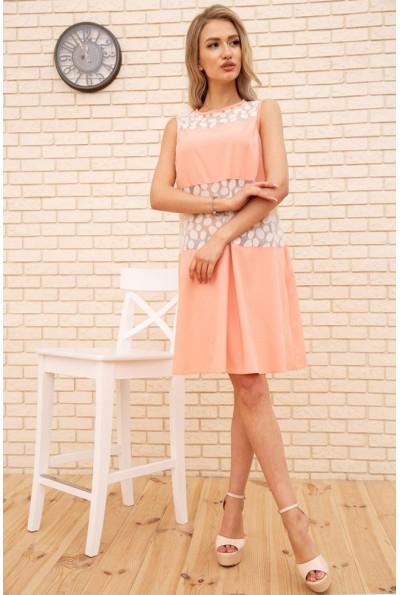 Платье  цвет персиковый 167R1644 55287