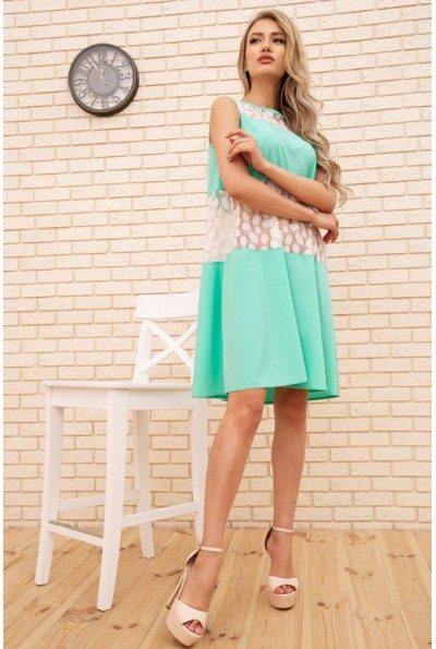 Платье 167R1644 цвет Мятный
