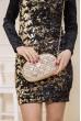Купить Женская сумка-клатч золотистого цвета 154R003-25-1 48162