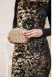 Женская сумка-клатч золотистого цвета 154R003-25-1 недорого