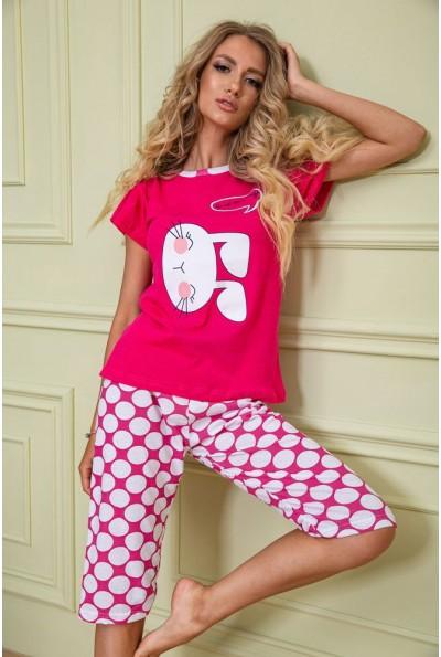 Пижама женская 167R10369 цвет Малиновый 62671