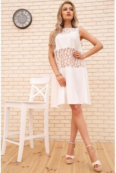 Платье 167R1644 цвет Молочный 55283