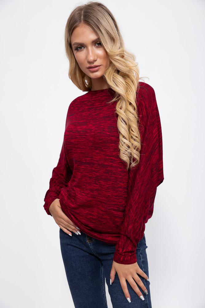Лонгслив женский 115R159-1 цвет Красный