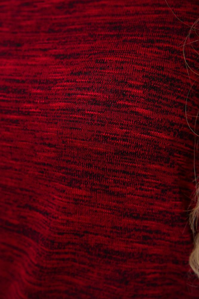 Лонгслив женский 115R159-1 цвет Красный 2