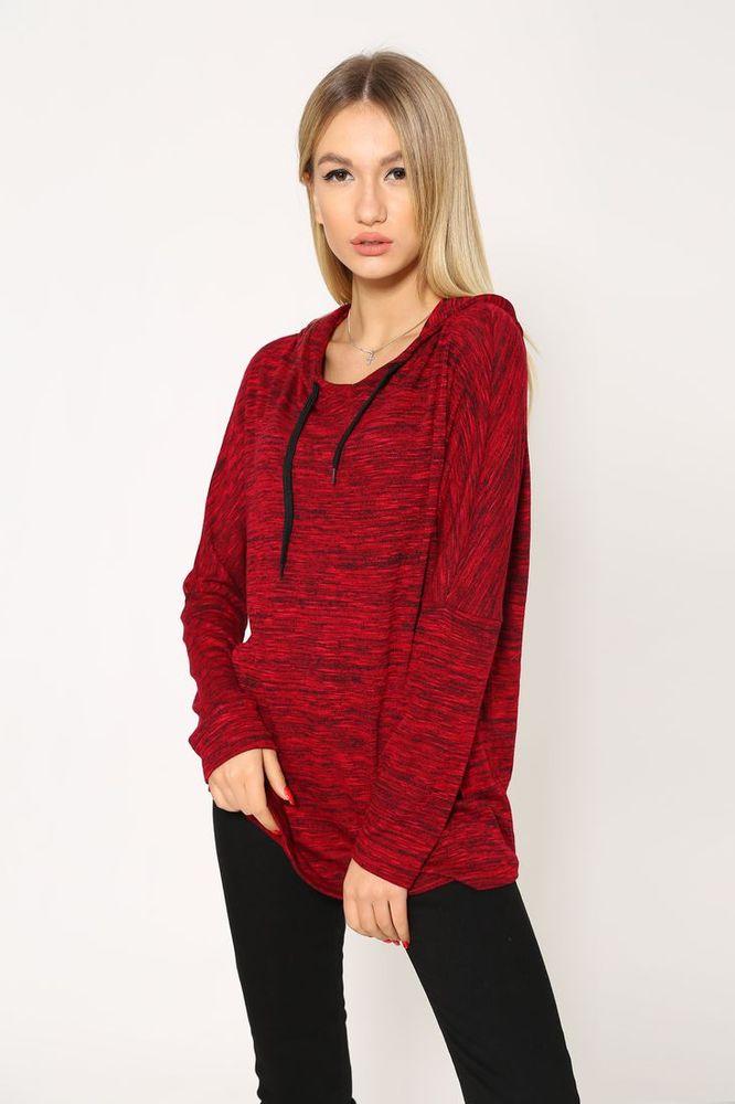 Батник женский 115R158 цвет Красный меланж
