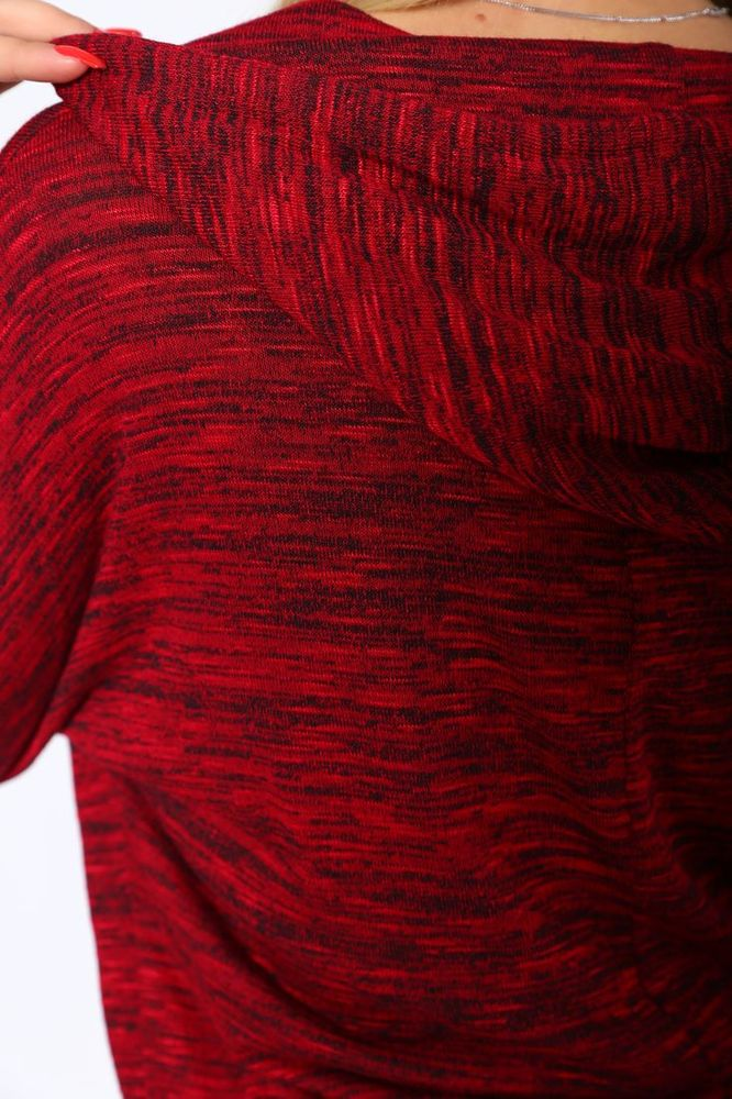 Батник женский 115R158 цвет Красный меланж 2